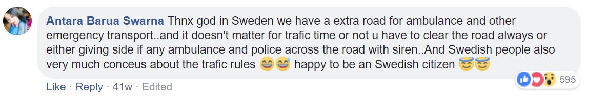 How Countries React To Ambulance Sirens comment 4