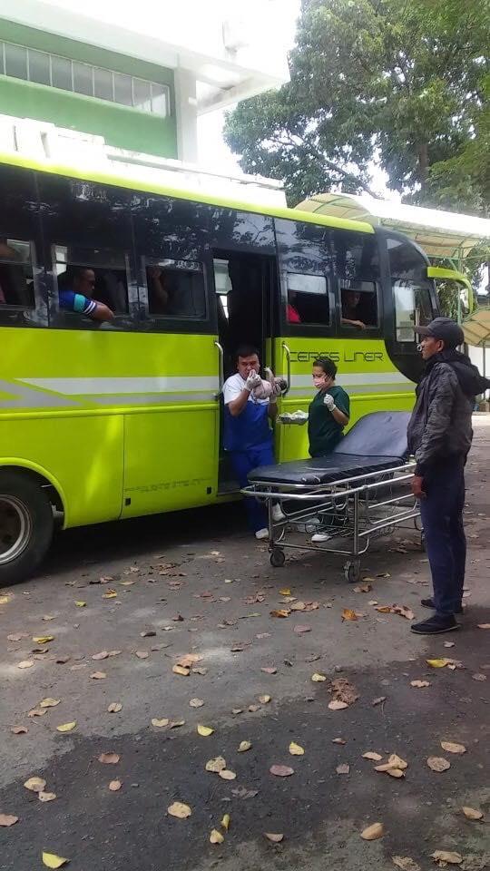 mom gave birth inside a bus