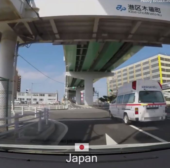How Countries React To Ambulance Sirens Japan