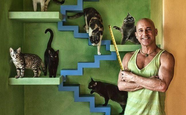 man 22 cats