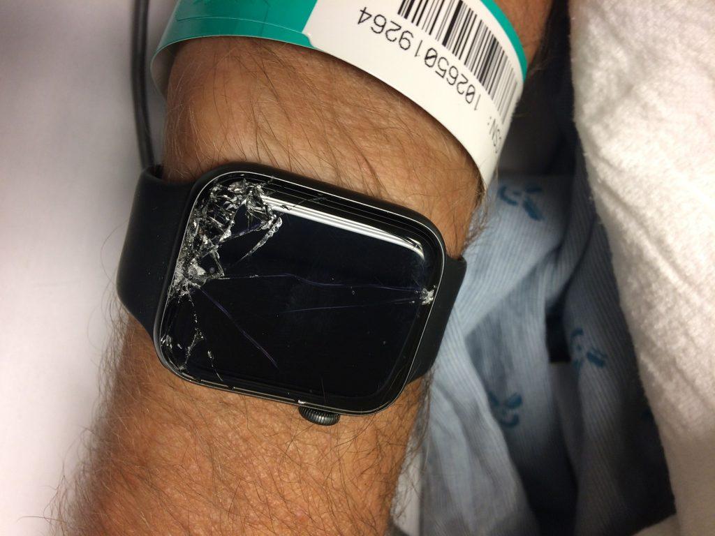 "Apple Watch's ""Hard Fall""  3"