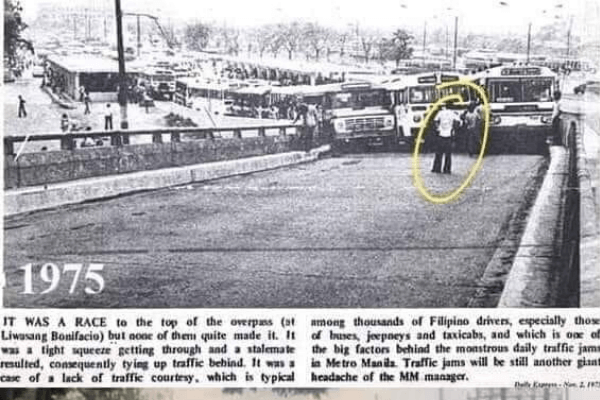 1975 similar road accident