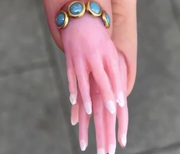 Nails with Tiny Hands and Feet