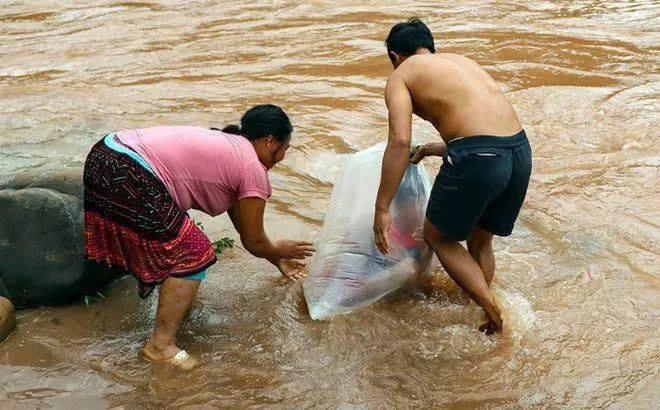 Kids in Plastic Bags
