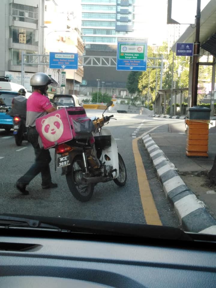 FoodPanda Rider