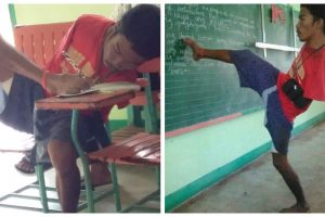 Armless Student