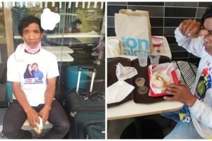 Good Samaritans Help Worker Who Lost His Job and Walked for Many Weeks