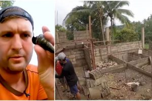 American Vlogger Builds House for Pinoy Family After Getting Stuck in Lockdown
